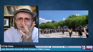 Reinaldo Azevedo: A democracia reage à truculência de Bolsonaro e de Sara Winter