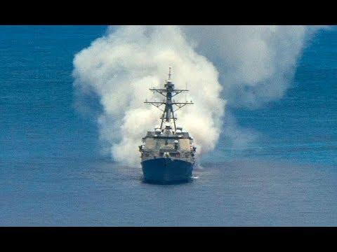 WEATHER WARS TERRORISM II Sea Based Water Vapor Generator Ships and RF Steering Devices