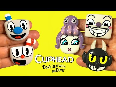 CUPHEAD! PART 1 Polymer Clay Tutorial