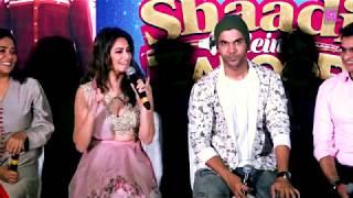 Shaadi Mein Zaroor Aana Trailer Launch | Rajkumar Rao | Kriti Khrbanda | Part 2