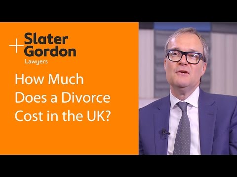 How Much Does a Divorce Cost? UK