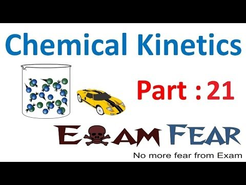 Chemistry Chemical Kinetics part 21 (Arrhenius equation) CBSE class 12 XII