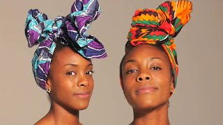 One Woman, 10 Headwrap Styles