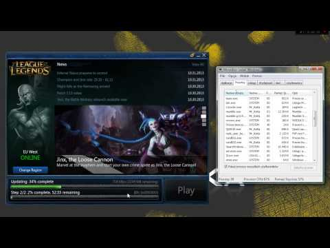 League of Legends - Pando Media Booster vs Your Download Speed