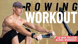 The PERFECT BEGINNER Rowing Workout