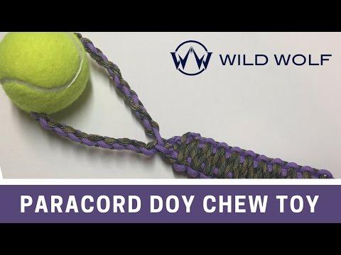 Paracord Dog Chew Toy - DIY