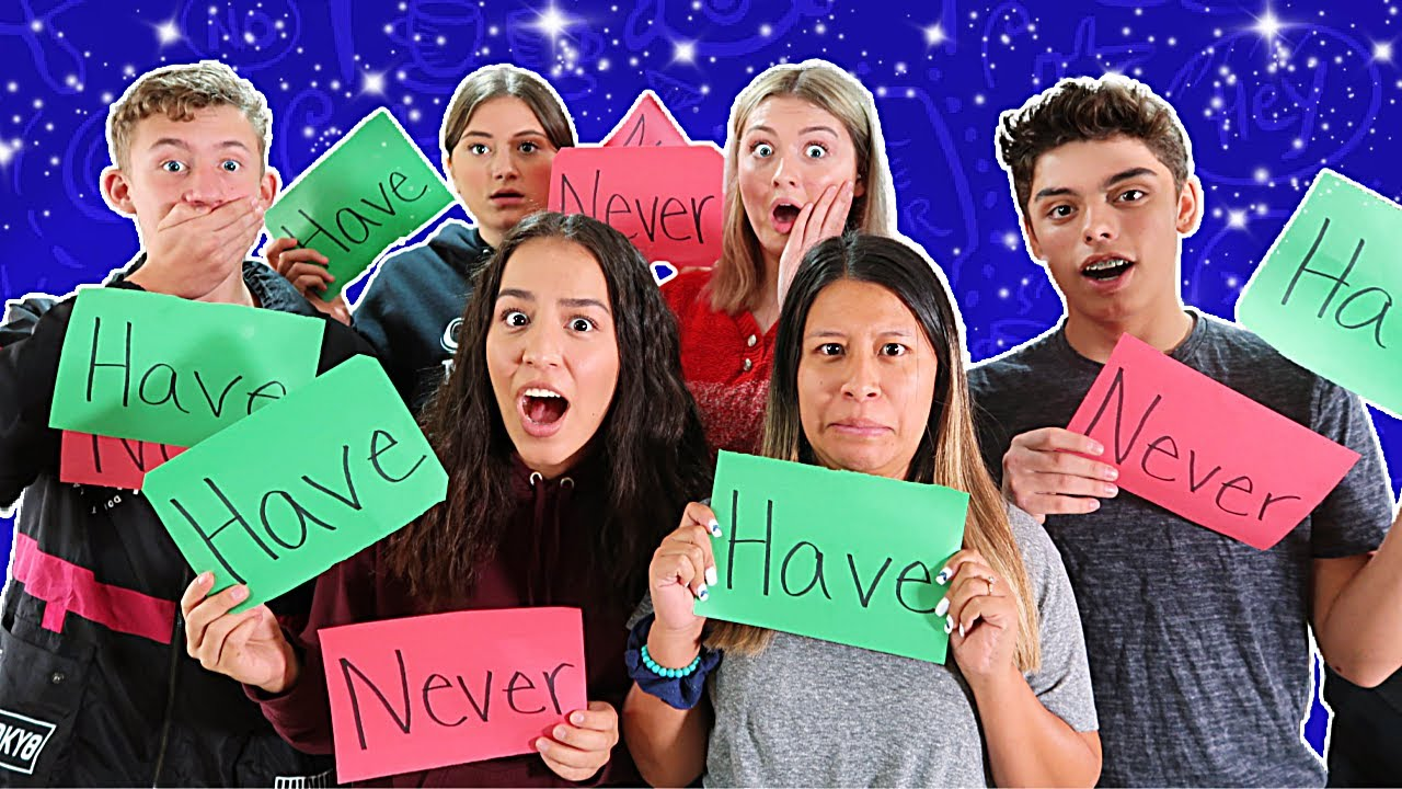 Never Have I Ever!   Teen Edition!   They Are In Trouble!   Siblings!