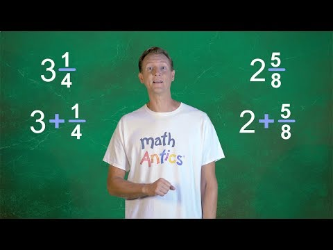 Math Antics - Adding Mixed Numbers