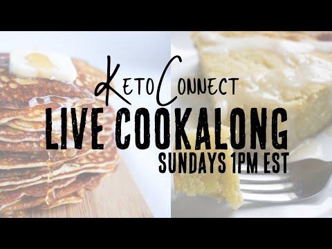 Pancakes + Giveaway | Keto Cookalong
