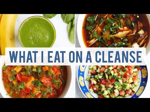 What I Eat On a Cleanse Day | HEALTHY VEGAN RECIPES