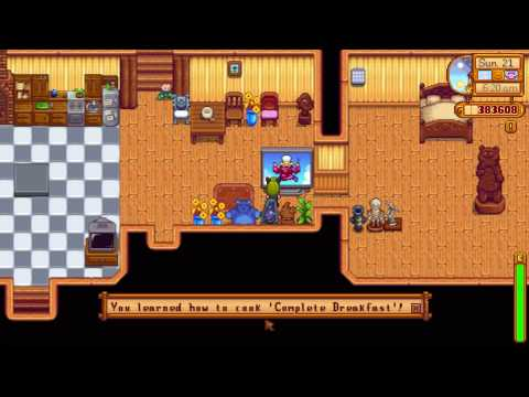 How to learn Complete Breakfast recipe - Stardew Valley