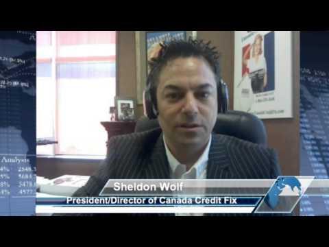 Canada Credit Reports with Sheldon Wolf of Canada Credit Fix - Equifax & Transunion Credit bureau