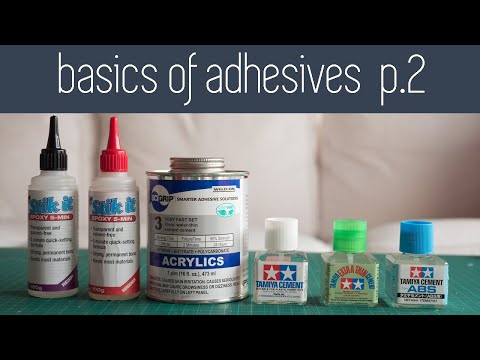 Architecture Modelmaking 101 - Basics of Adhesives Part 2