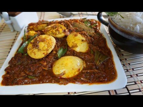 Chettinad Egg Curry in Tamil / Muttai Kulambu / முட்டை குழம்பு