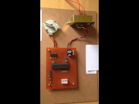 Microcontroller based Stepper motor drive.