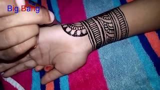Full Hand Palm Mehendi Design:Easy Traditional Fastival Mehendi Design