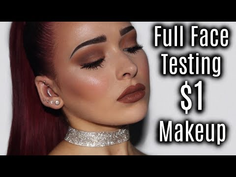 Full Face Testing $1 Makeup | Shop Miss A Review