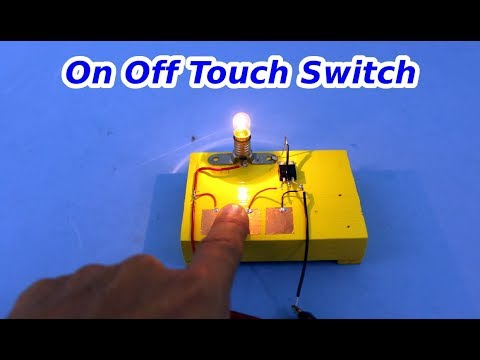 Touch Activated On Off Switch