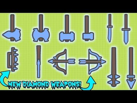 MOOMOO.IO NEW DIAMOND WEAPONS UPDATE! HOW TO GET THE NEW DIAMOND WEAPONS?!  (MooMoo.io)