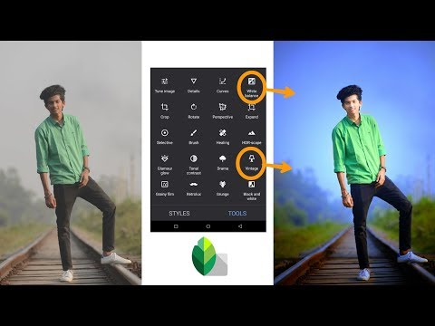 Snapseed Very Easy Photo Editing | Click 2 Tricks Best Color Effects Step By Step