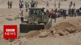 The Palestinian village facing demolition - BBC News