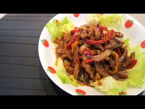 Stir Fry Beef with Capsicums