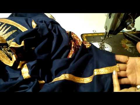 कुर्ती/कमीज/सूट की साइड में लैस कैसे लगायें/How to attach lace in side of kurti
