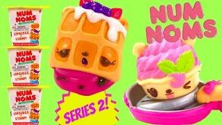 NUM NOMS Series 2! Surprise Blind Box Cups - Brunch Bunch & Diner Food!