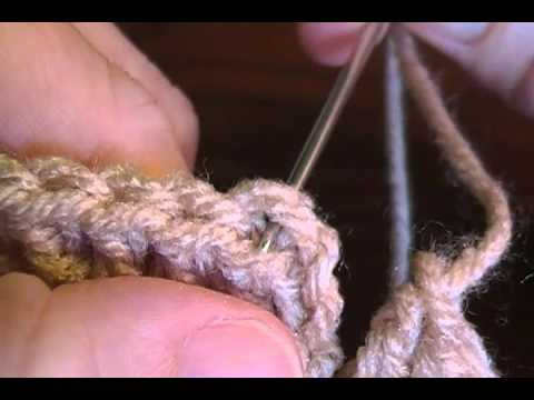 Finishing your crochet project