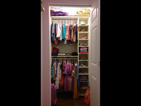 Extra storage for small closet