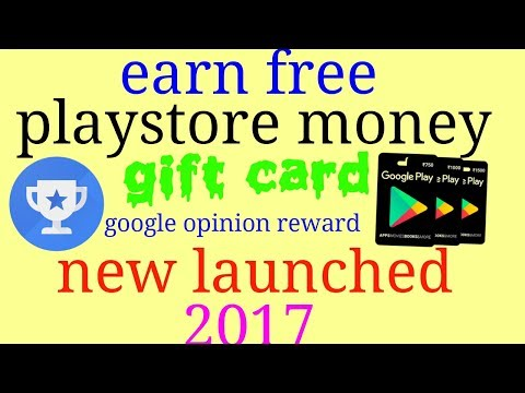 Earn free playstore money through playstore gift card !!! Recent launched 2017 in hindi