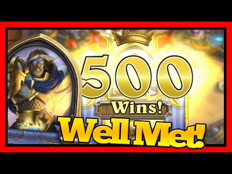 Hearthstone: Golden Paladin! (My First Golden Hero!)