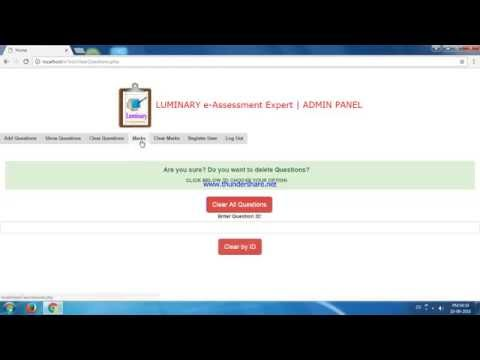Online Examination System | Online Exam System  | To get this tool mail author.php@gmail.com