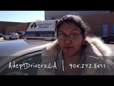 Road Test Passed First Time Mississauga