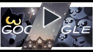 Halloween 2016 Google Doodle - Halloween 2016 Doodle Game (Level 1 - 20)