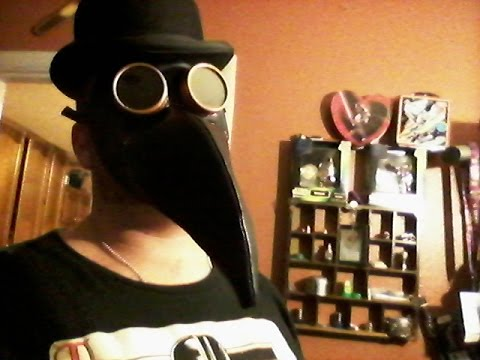 PLAGUE DOCTOR MASK HOW TO EASY