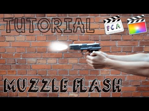 Slow motion muzzle flash tutorial part 2-after effects the avenog.