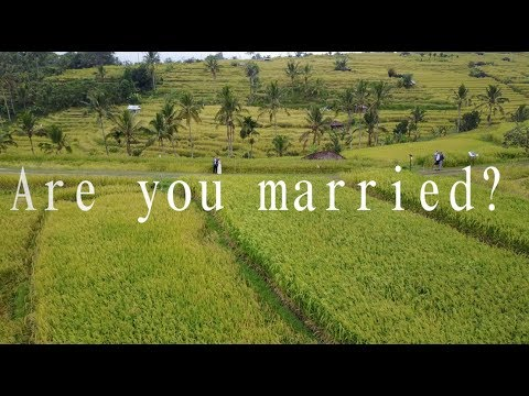 What could it look like to get married in Bali?
