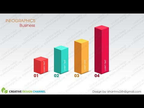 3D Infographics and Graphic Design  | Illustrator CS6 Tutorial