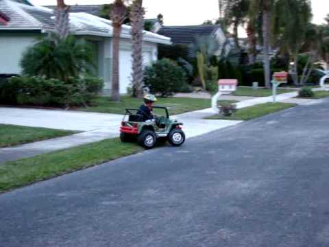 How to Convert a 12v to 36v Power Wheels