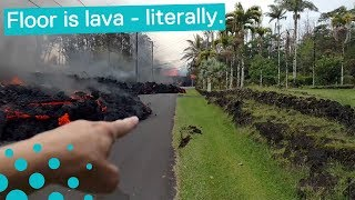Crazy Lava Flows Captured in Hawaii