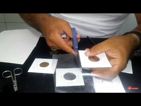 Como fazer coin holder