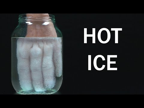 How to make Hot Ice at home - Amazing Science Experiment
