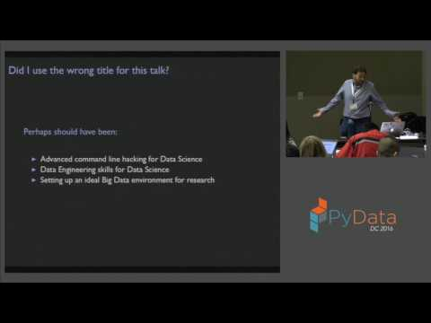 Marck Vaisman | Scaling up to Big Data Devops for Data Science