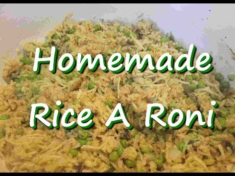 How to Make Homemade Rice A Roni ~ Rice Side Dish Recipe