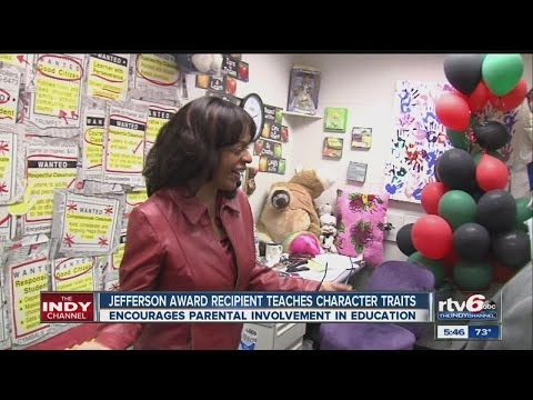 Teacher honored for encouraging parental involvement in education