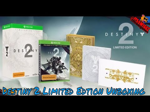 :: UNBOXING :: DESTINY 2 LIMITED EDITION!! XB1 // NEW URBANGAMERS NEWS Late Upload!