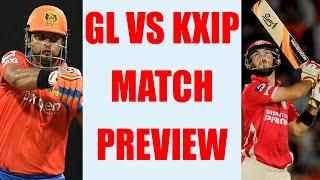 IPL 2017: KXIP vs GL ; Punjab vs Gujarat Match Preview & Prediction| वनइंडिया हिन्दी
