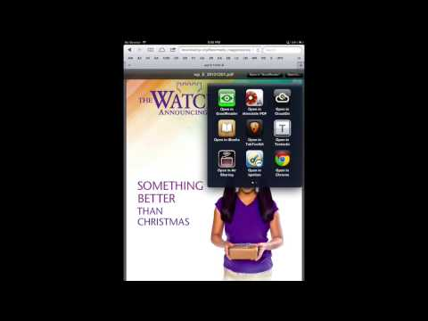 Using PDF files with iBooks