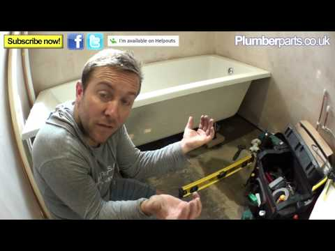 HOW TO INSTALL A BATH - Plumbing Tips